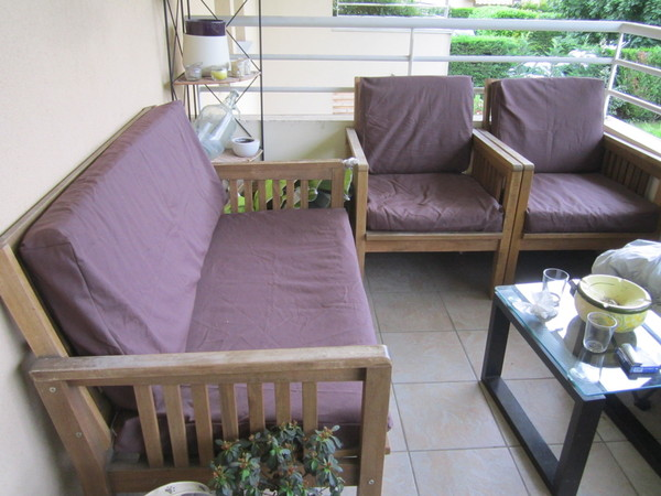 banquettes salon de jardin. Black Bedroom Furniture Sets. Home Design Ideas